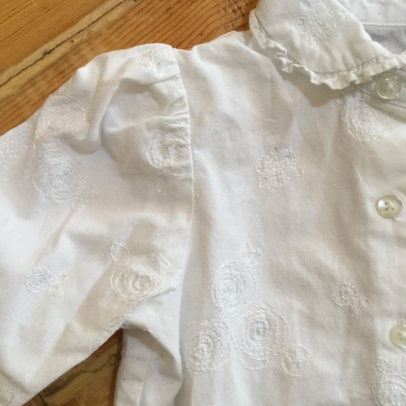 The Children's Place Other - Children's Place Embroidered Blouse White 24M